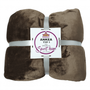 Kétoldalas takaró, barna, ANKEA TÍPUS 1