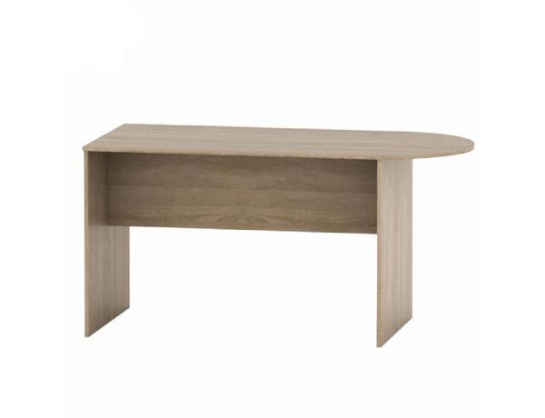 Tárgylóasztal ívvel 150, tölgy sonoma, TEMPO ASISTENT NEW 022