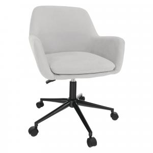 Irodai szék, világosszürke, LAIRA