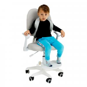 Növekvő szék alappal és pántokkal, rózsaszín/fehér, ANAIS