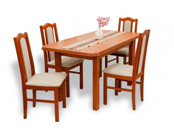 London étkező garnitúra Pianó asztallal (4 személyes) wenge színben
