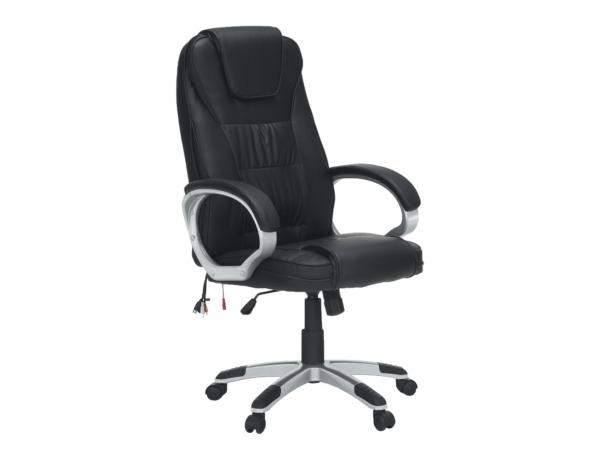 Irodai fotel, masszázs funkcióval, fekete, TYLER UT-C2652M
