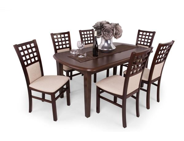 Kármen étkező Dante asztallal Mogyoró