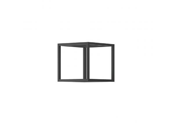 RTV asztal lábazat nélkül, fehér, SPRING ERTVSZ120
