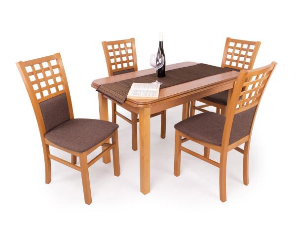 Kármen étkezőgarnitúra Pianó asztallal (4 személyes)