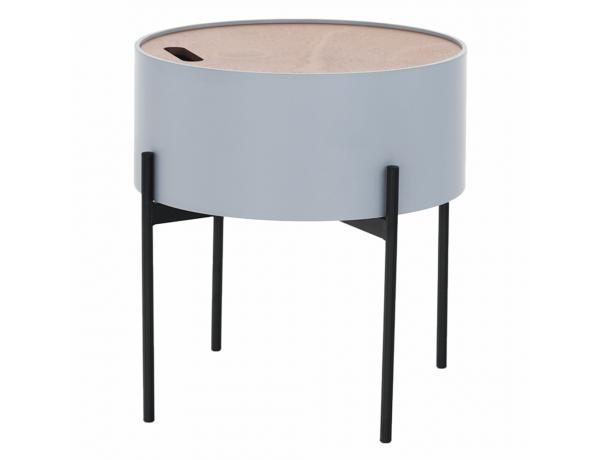 Kisasztall, szürke/természetes/fekete, MOSAI